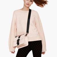 Light Pink Knitted Sweater