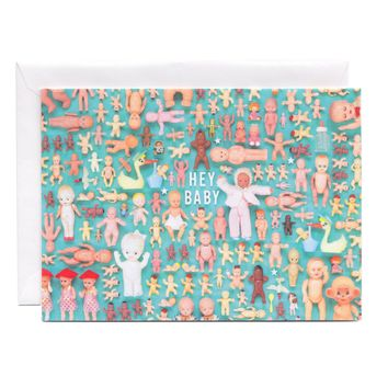 Tiny Things Baby Collection Greeting Card
