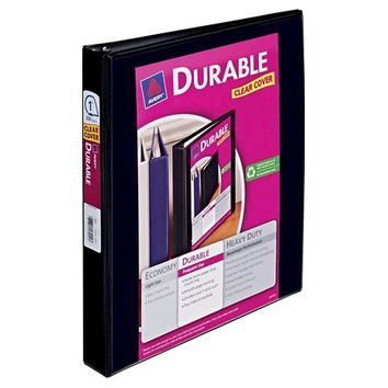 """Avery 1"""" Ring Binder with Durable Clear View Cover, 8.5"""" x 11"""""""