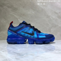 DCCK N1033 Nike Vapormax VM3 2019 Transparent Upper Atmospheric Cushion Jogging Shoes Blue