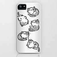 Cat iPhone & iPod Case by Toru Sanogawa