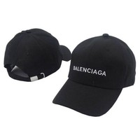 ONETOW balenciaga embroidered outdoor baseball cap hats 2