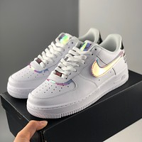 Nike Air Force 1 Video game pixel laser high and low top shoes