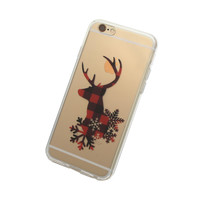 iPhone Hipster Reindeer Case
