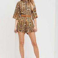 Motel Rocks Pines Ornate Romper