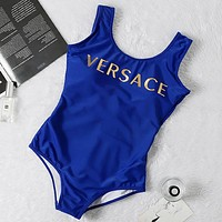 Versace tank top one piece bikini