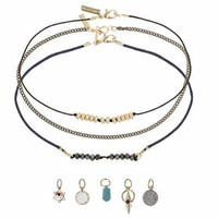 Choker Pack With Charms - Necklaces - Jewellery - Bags & Accessories