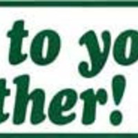 Listen to Your Mother bumper sticker