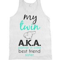 White Tank | Cute Bff Shirts