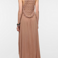 Urban Outfitters - Fraiche By J Crochet Back Maxi Dress
