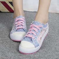 Leisure hollow out fashion sneaker