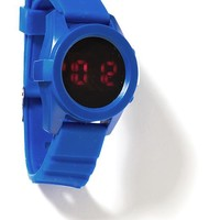 Old Navy LED Watch For Boys Size One Size - BOOGALOO BLUE POLY