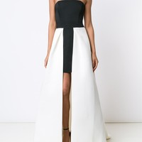 Halston Heritage Strapless Gown Dress - Tootsies - Farfetch.com