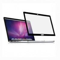 TopCase Anti-Glare Bubble Free LCD Screen Protector with Black Frame for Apple Macbook Pro 13-Inch (A1278) Bundle with Mouse Pad - Black