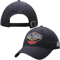 New Orleans Pelicans adidas Women's Slouch Adjustable Hat – Navy Blue