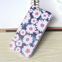 Retro Daisy Case Ultrathin Cover for iPhone 5 6 6s Plus