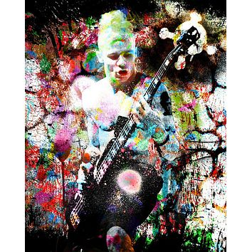 Flea Art - Red Hot Chili Peppers