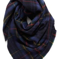 Shiraleah 'Anya' Plaid Oversize Square Scarf   Nordstrom