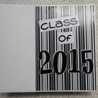 6x6 Class of 2015 Graduation Scrapbook Photo Album