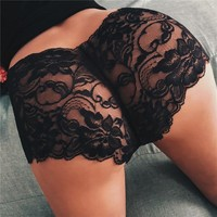 New Women Ladies Lace Panties Brief Sexy Lingerie Underwear Intimates Knickers Size S M L XL