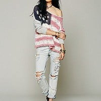 Free People  Flag Pullover at Free People Clothing Boutique