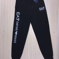 emporio armani fashion women casual sport pants sweatpants-2