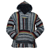 Classic Multi-Stripe Pullover Baja Hoodie on Sale for $18.99 at HippieShop.com