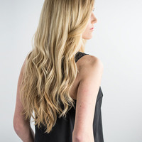 18 inch DELUXE-HALO-SONO - Clip-In Hair Extension 155g