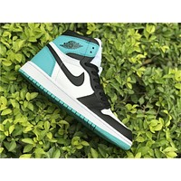 AIR JORDAN 1 AJ1 BLACK TOE BASKETBALL SHOES 40-47
