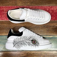 Alexander McQueen Classic white shoes-6