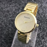 VONEGZ GUCCI Ladies Trending Casual Quartz Watches Wrist Watch Golden G