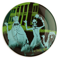 Disney Parks Attraction Poster Plate - Haunted Mansion - 7''