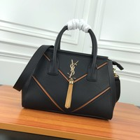 HCXX 19June 508 Yves Saint Laurent YSL Double layer insulation Leather Fashion Handbag 31-23-13