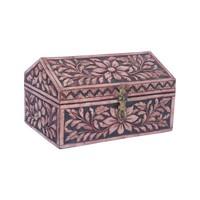 Pre-owned Decorative Camel Bone Box