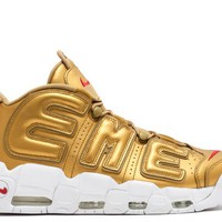 Nike x Supreme Nike Air More Uptempo Gold
