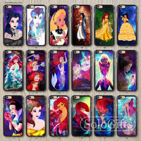 Galaxy Disney Princess, iPhone 6 case, iPhone 6 Plus case, iPhone case, iPhone 5 case, iPhone 5S Case, Galaxy S5 S4 S3 Note 2 Note 3, A01001