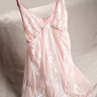 Spaghetti Strap Lovely Double-layered Lace Cute Sleepwear = 5990496065