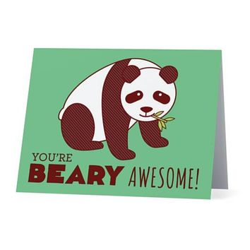 You're Beary Awesome Card