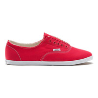 Vans - Ynez Red and White Shoes