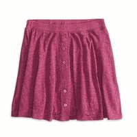 AE Jersey Circle Skirt, Fuchsia Pink | American Eagle Outfitters