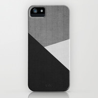 Concrete & Triangles II iPhone & iPod Case by no.216
