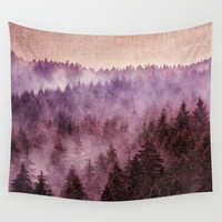 Why Don't We Disappear? Wall Tapestry by Tordis Kayma