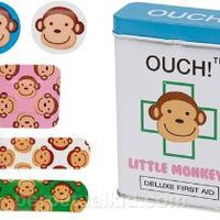 OUCH! LITTLE MONKEYS BANDAGES