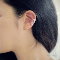 Leaf Korean Stylish Earrings [10417792084]