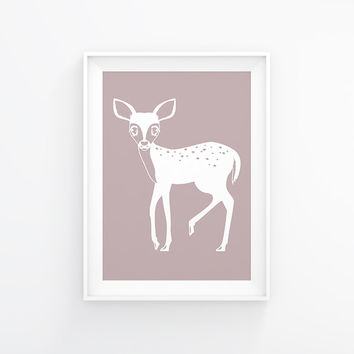 Fawn Poster