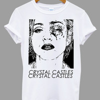 Madonna Crystal Castles Popular Item on etsy for Funny Shirt, T shirt Mens and T shirt ladies size S, M, L, XL, XXL