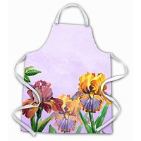 Purple and Yellow Iris Apron BB7445APRON