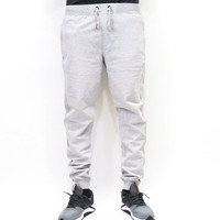 Jordan Craig Fleece Jogger Sweatpants - Heather Grey