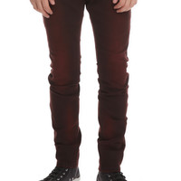 RUDE Rust Overdyed Skinny Fit Denim Jeans | Hot Topic
