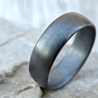 silver wedding band, mens promise ring comfort fit, mens wedding band, silver mens ring, domed silver ring, silver wedding ring minimalist